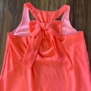 Hope's bow chiffon dress
